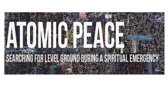 atomic peace banner