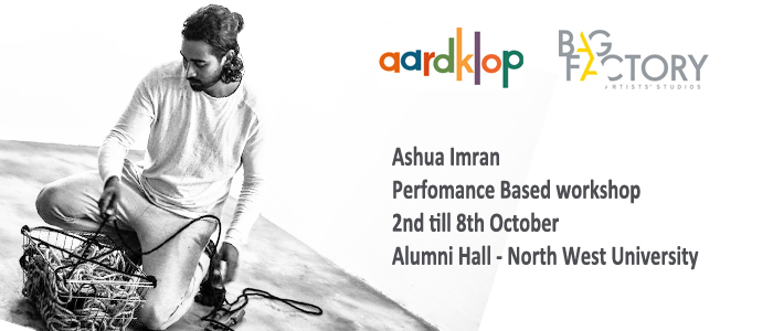 A'shua Imran: Blind Drawing Workshops at Aardklop